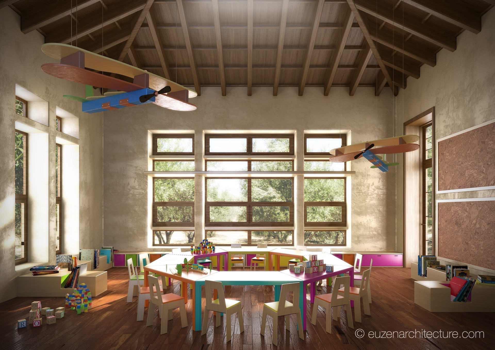 4.KindergartenClassInterior